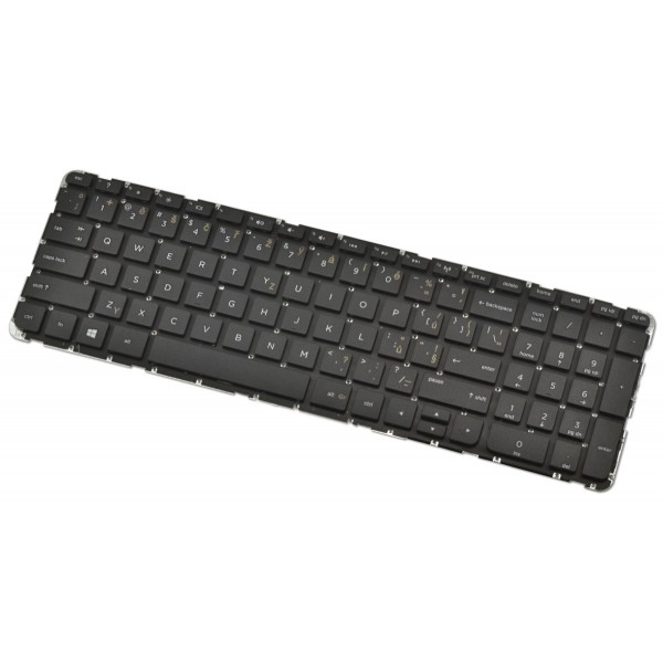 HP Pavilion 15-N211TX keyboard for laptop CZ/SK Black
